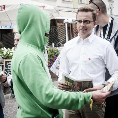 Inauguracja kampanii - Płock