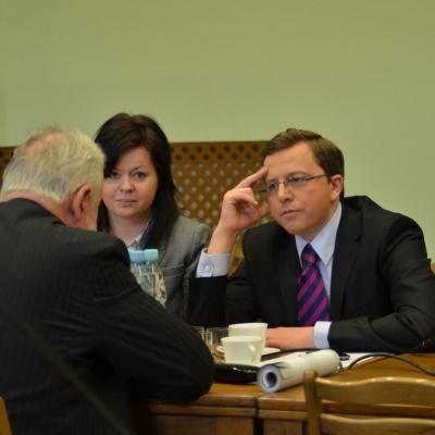 Spotkanie liderów SLD i OPZZ 12.04.2013